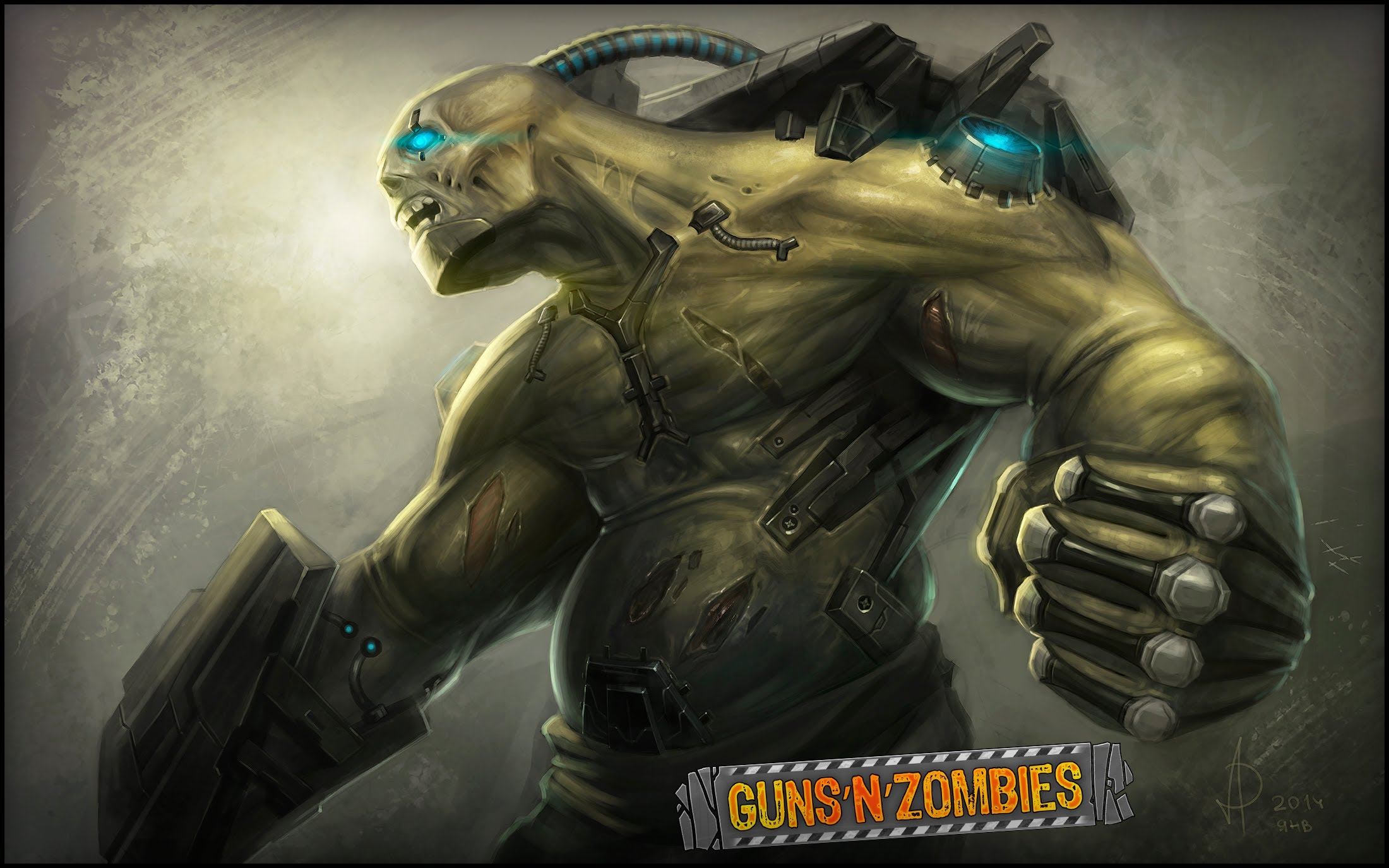 Guns'N'Zombies Backgrounds, Compatible - PC, Mobile, Gadgets  2200x1375 px