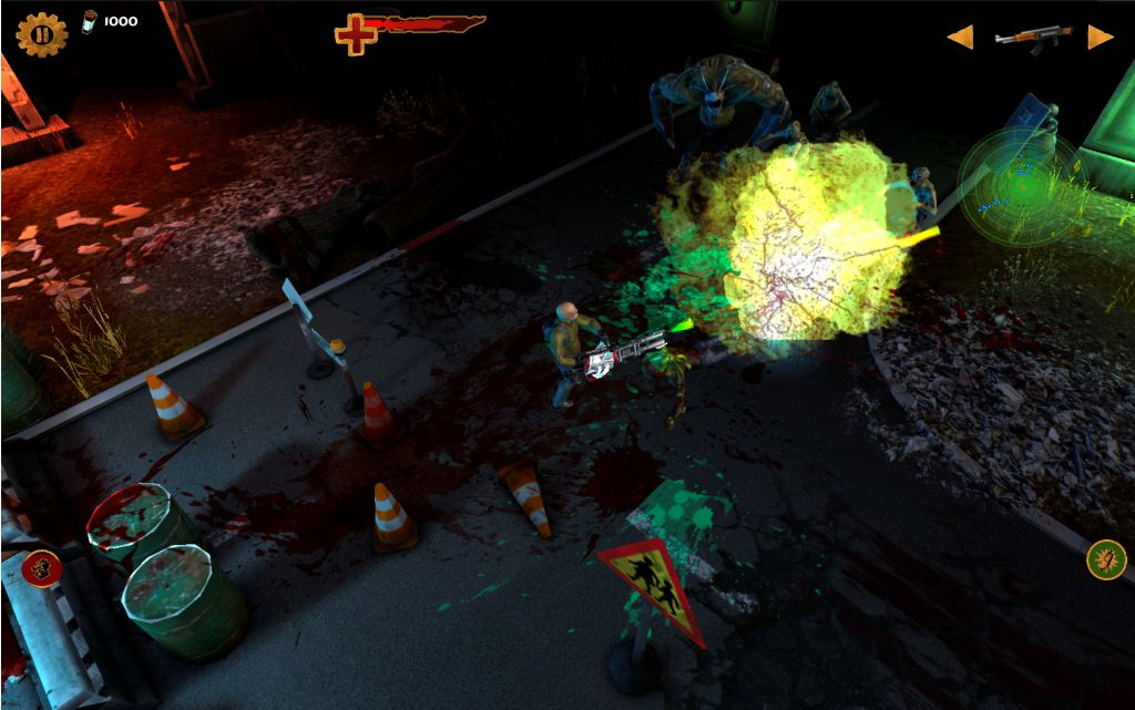 HD Quality Wallpaper   Collection: Video Game, 1024x641 Guns'N'Zombies