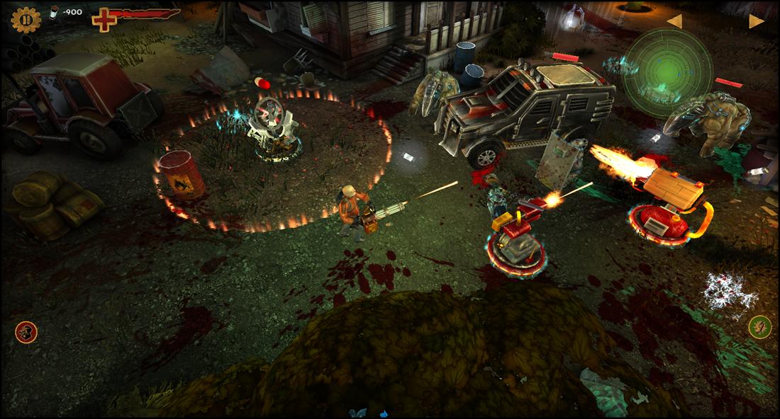 Guns'N'Zombies Backgrounds, Compatible - PC, Mobile, Gadgets  1100x592 px