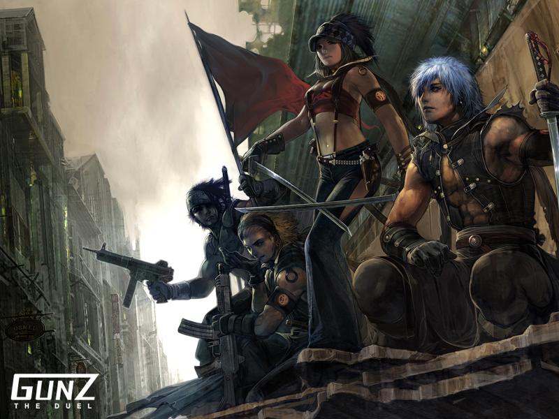 Gunz Backgrounds on Wallpapers Vista