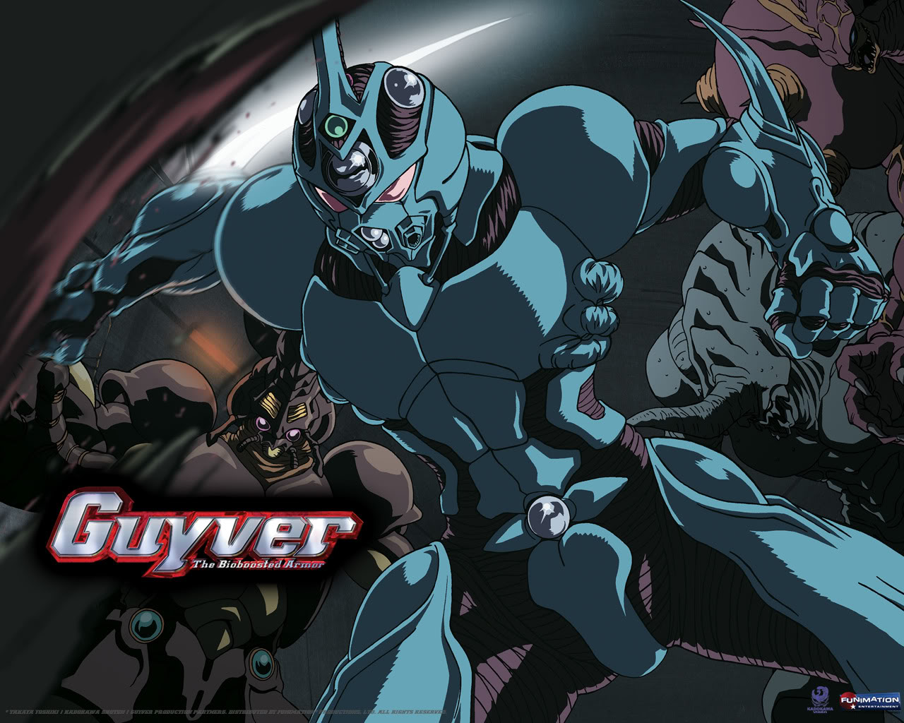 Guyver The Bioboosted Armor Backgrounds on Wallpapers Vista