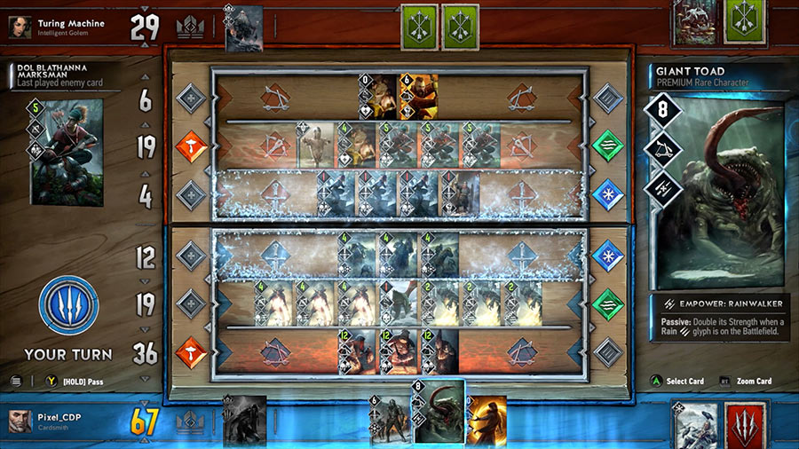 Gwent: The Witcher Card Game Backgrounds on Wallpapers Vista