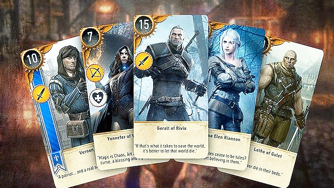 Gwent: The Witcher Card Game HD wallpapers, Desktop wallpaper - most viewed