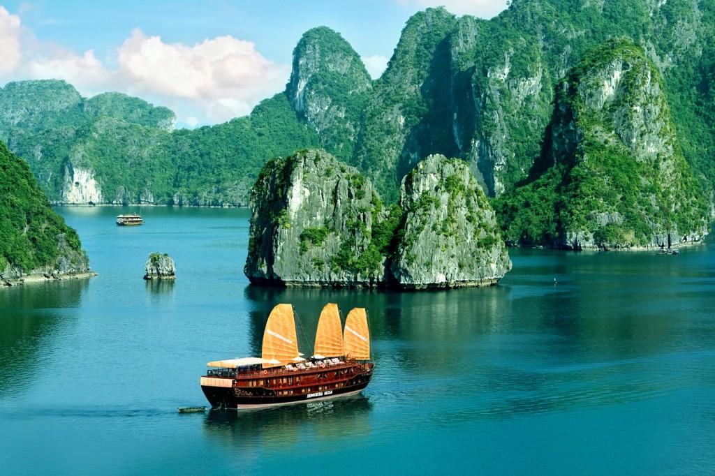 High Resolution Wallpaper   Hạ Long Bay 1024x682 px