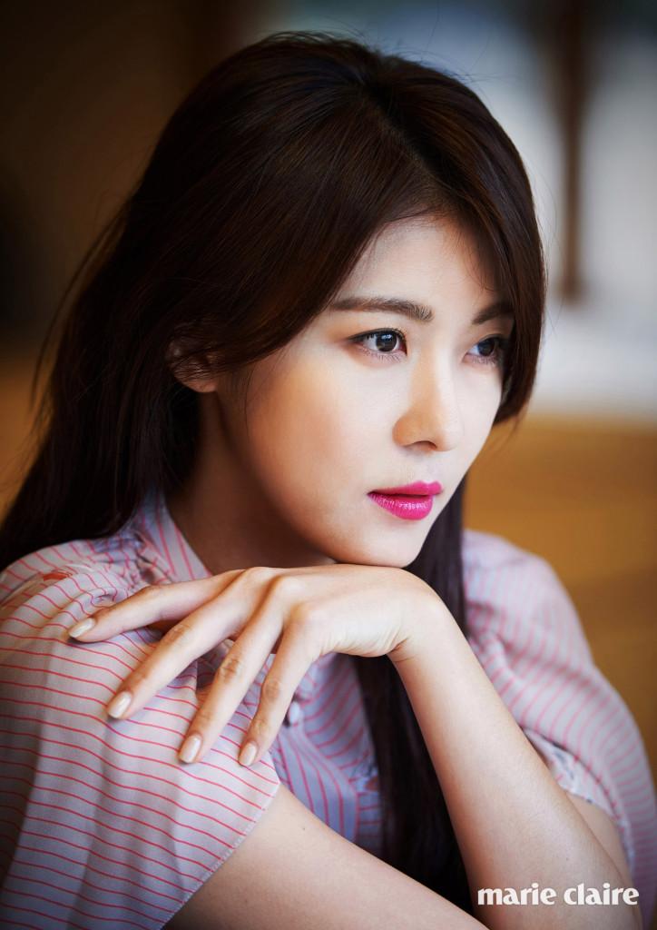 Nice wallpapers Ha Ji-won 724x1024px