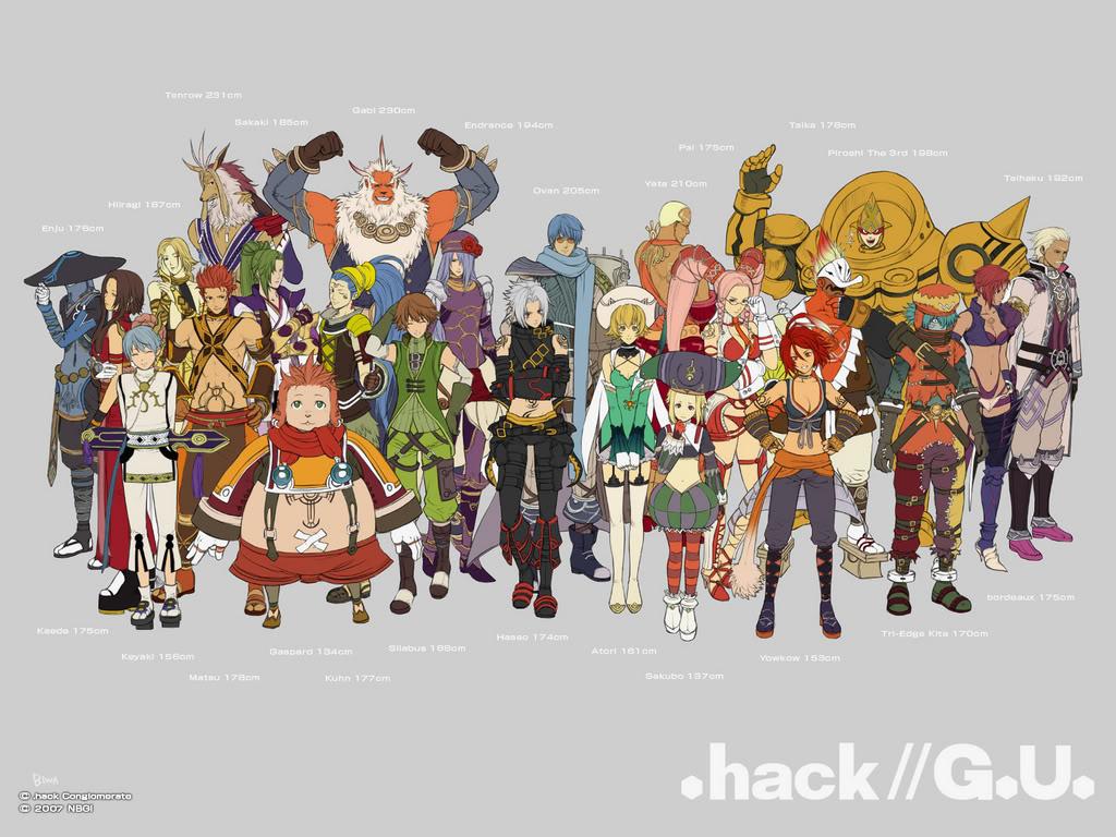 Nice Images Collection: .hack  G.U. Desktop Wallpapers