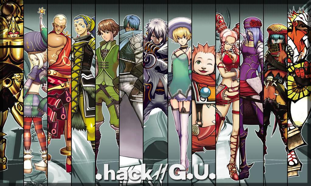 High Resolution Wallpaper | .hack  G.U. 1023x614 px