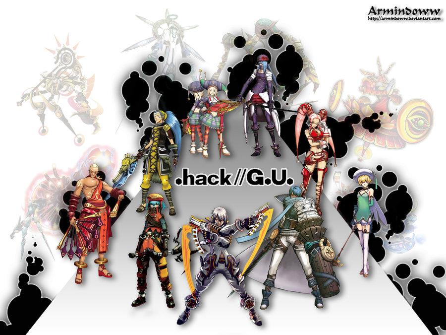 Nice wallpapers .hack  G.U. 900x675px