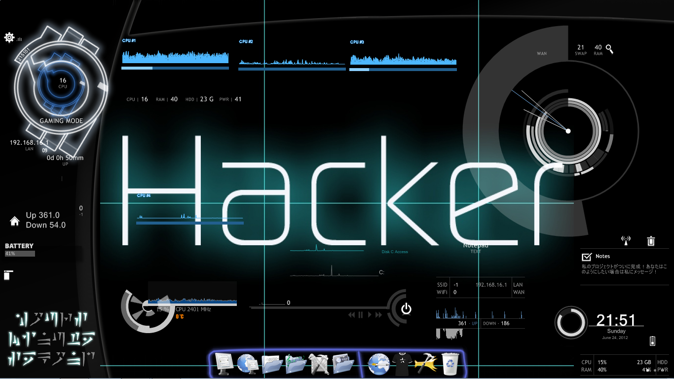 HQ Hacker Wallpapers | File 566.98Kb