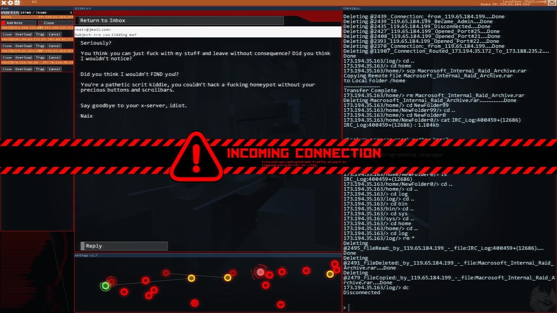 Nice Images Collection: Hacknet Desktop Wallpapers