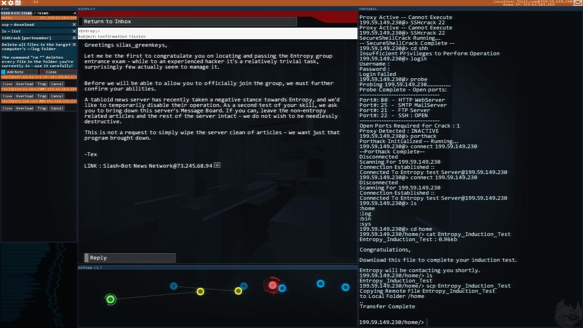 Hacknet Backgrounds, Compatible - PC, Mobile, Gadgets| 1920x1080 px
