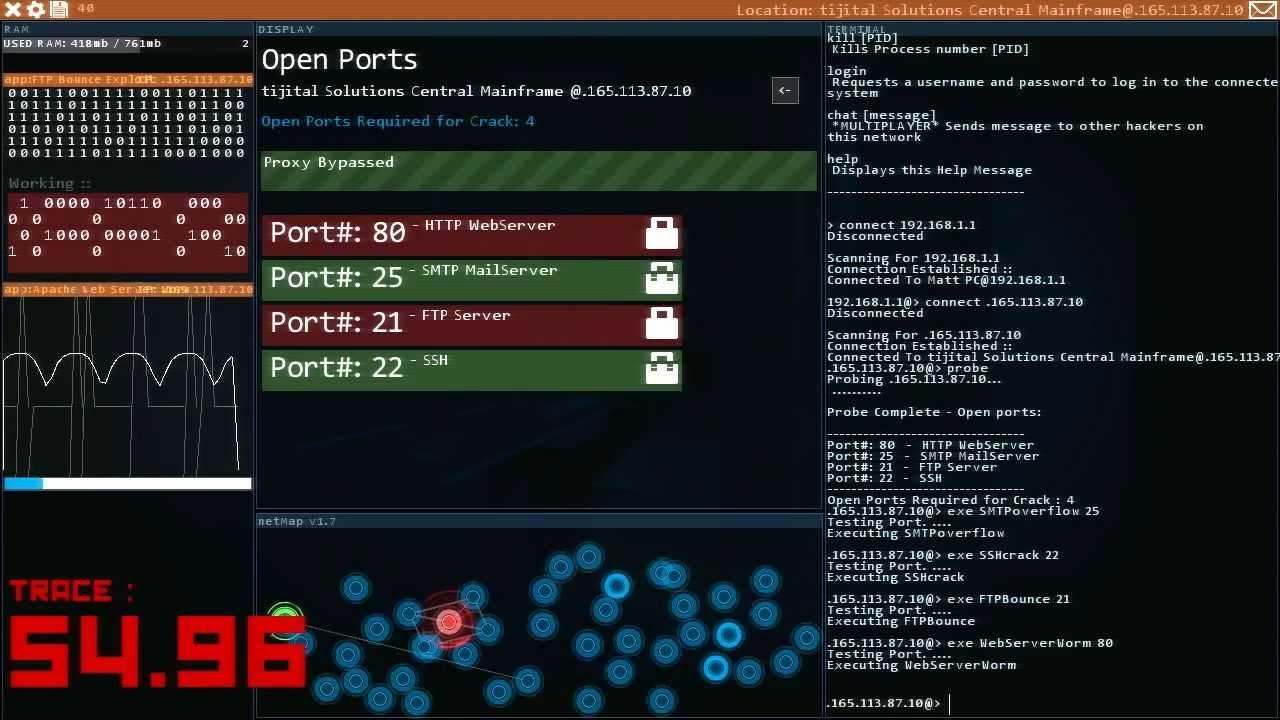 Hacknet Backgrounds, Compatible - PC, Mobile, Gadgets| 1280x720 px