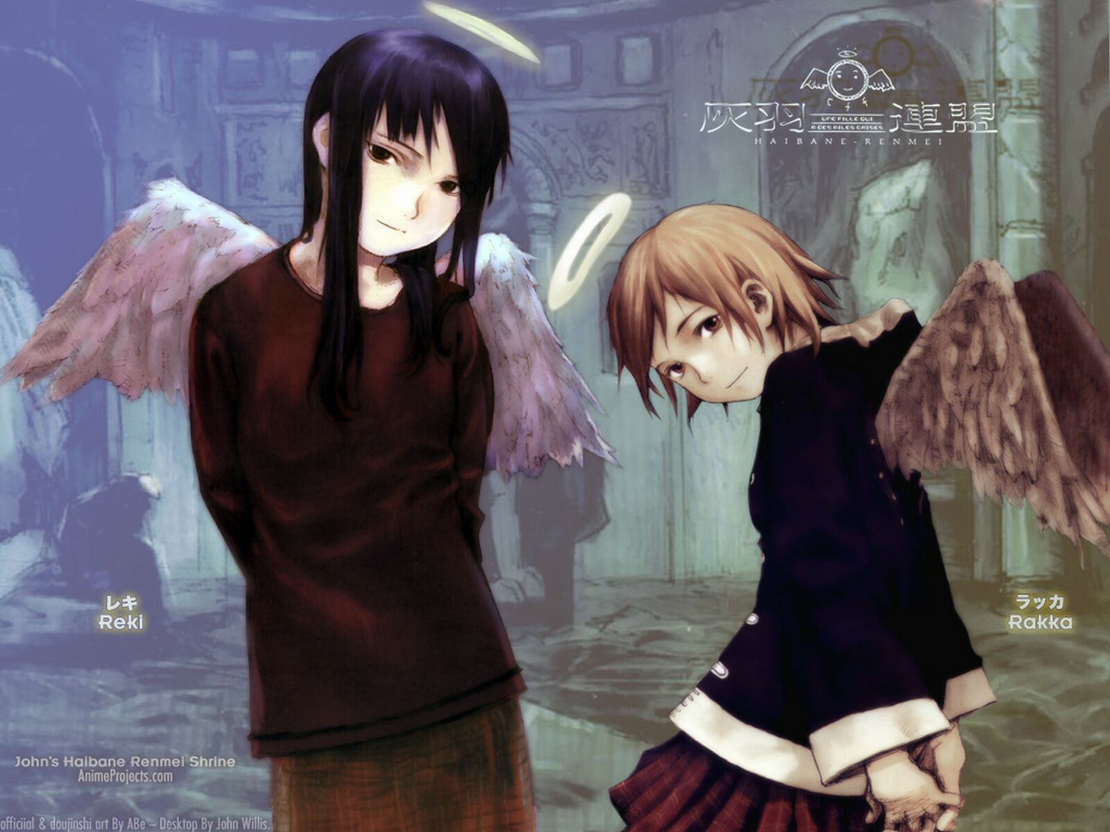 Haibane Renmei High Quality Background on Wallpapers Vista