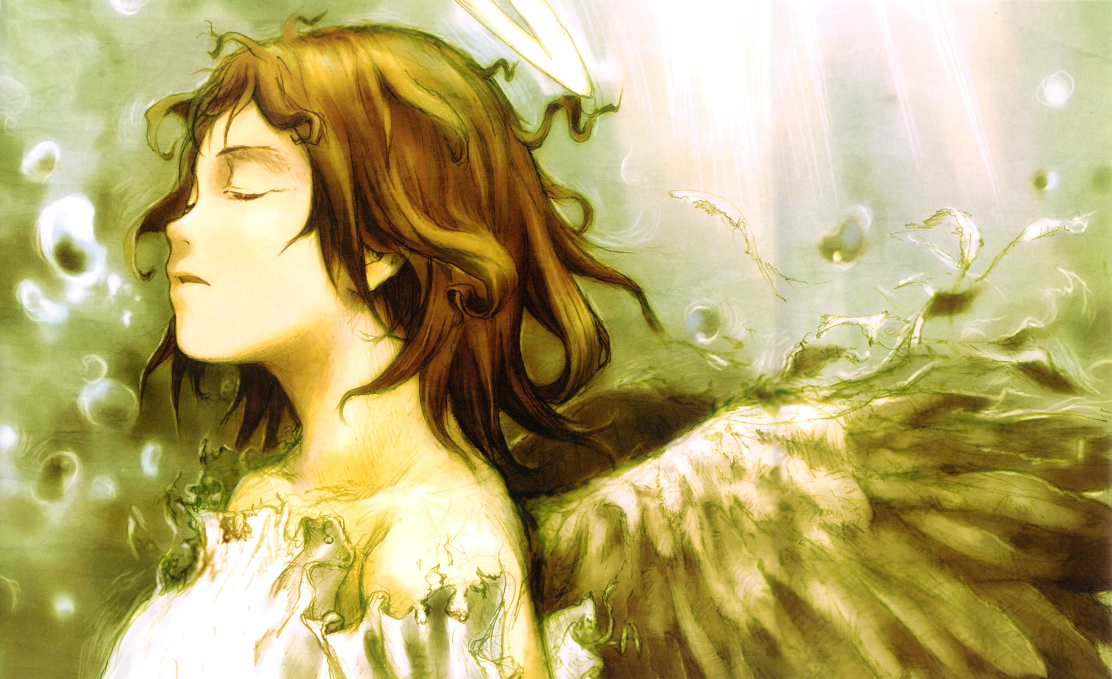 Haibane Renmei Backgrounds on Wallpapers Vista