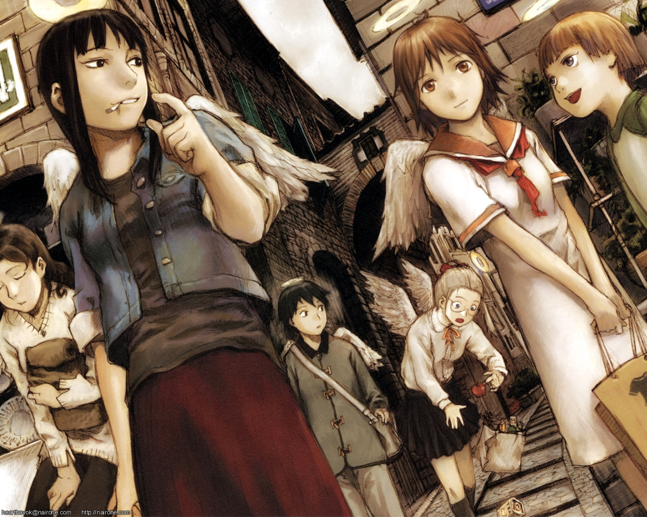 1280x1024 > Haibane Renmei Wallpapers