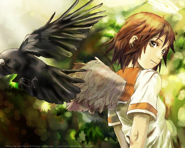 HD Quality Wallpaper | Collection: Anime, 600x480 Haibane Renmei