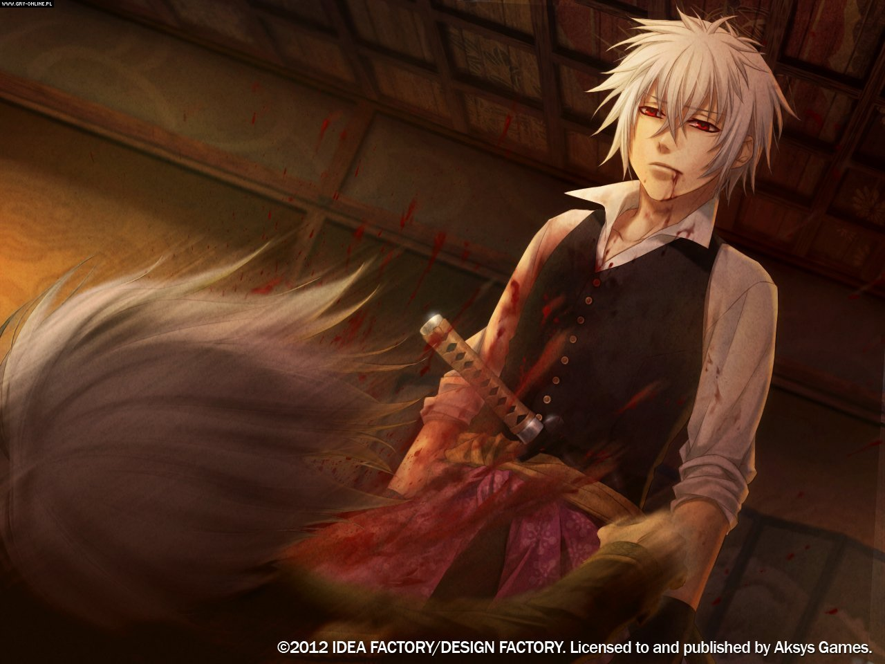 HD Quality Wallpaper | Collection: Video Game, 1280x960 Hakuoki: Demon Of The Fleeting Blossom