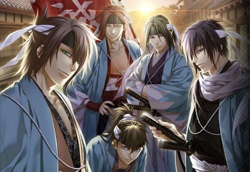 HD Quality Wallpaper | Collection: Video Game, 500x345 Hakuoki: Demon Of The Fleeting Blossom
