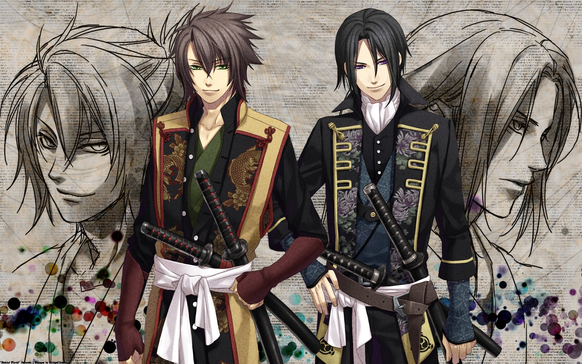 HQ Hakuouki Shinsengumi Kitan Wallpapers | File 724.12Kb