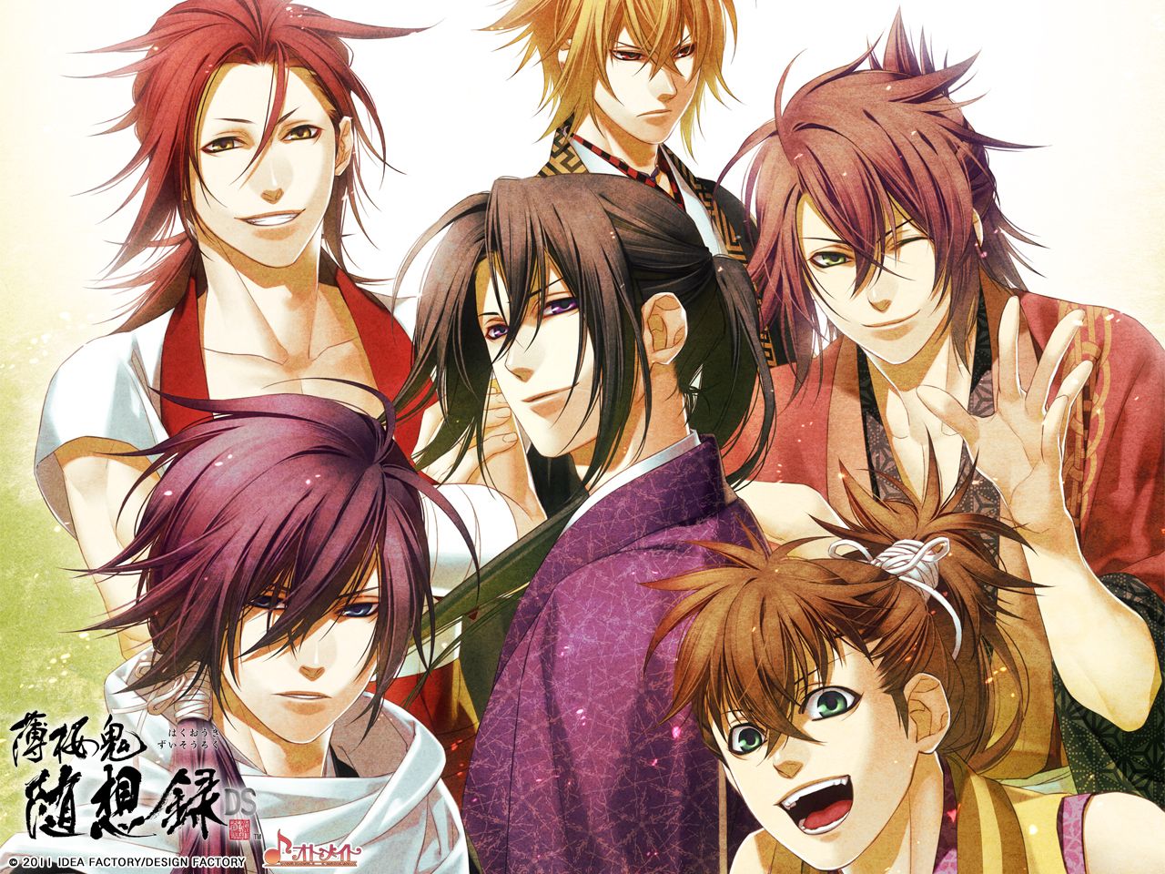 HQ Hakuouki Shinsengumi Kitan Wallpapers | File 1497.76Kb