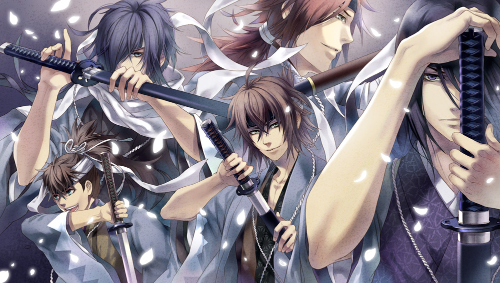 Hakuouki Shinsengumi Kitan Backgrounds on Wallpapers Vista