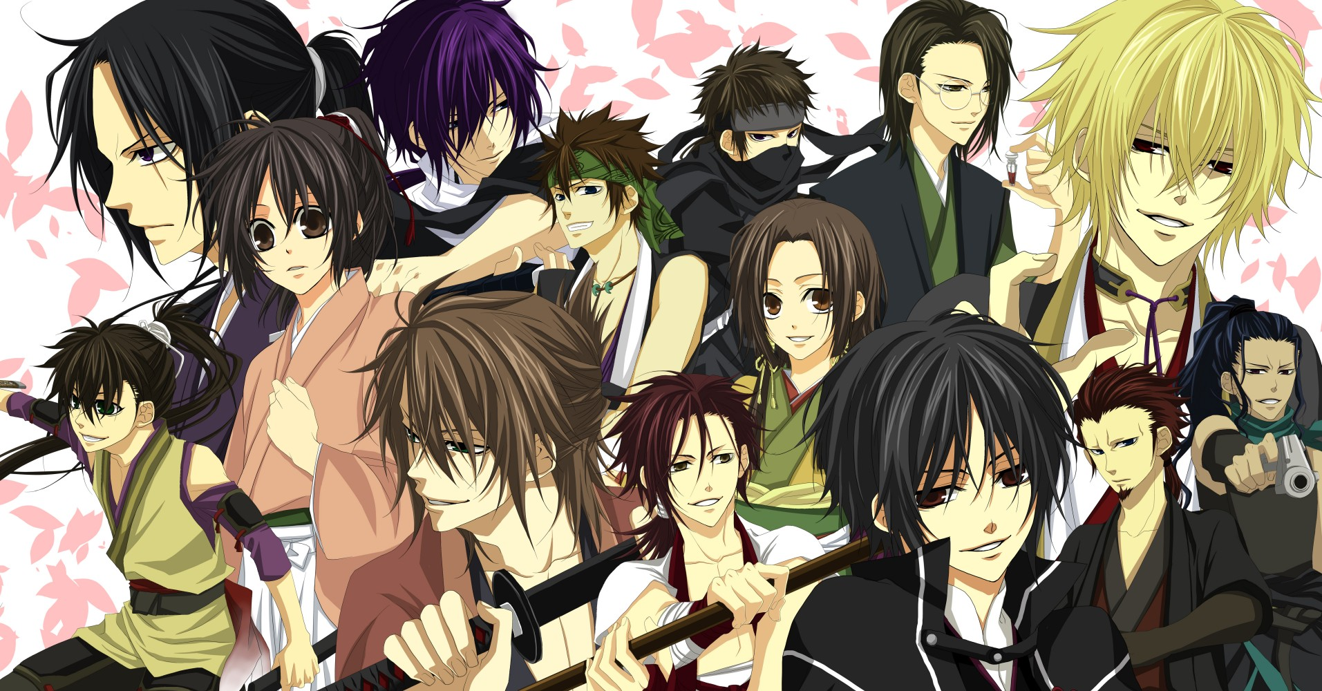 Hakuouki Shinsengumi Kitan Backgrounds, Compatible - PC, Mobile, Gadgets| 1913x1000 px