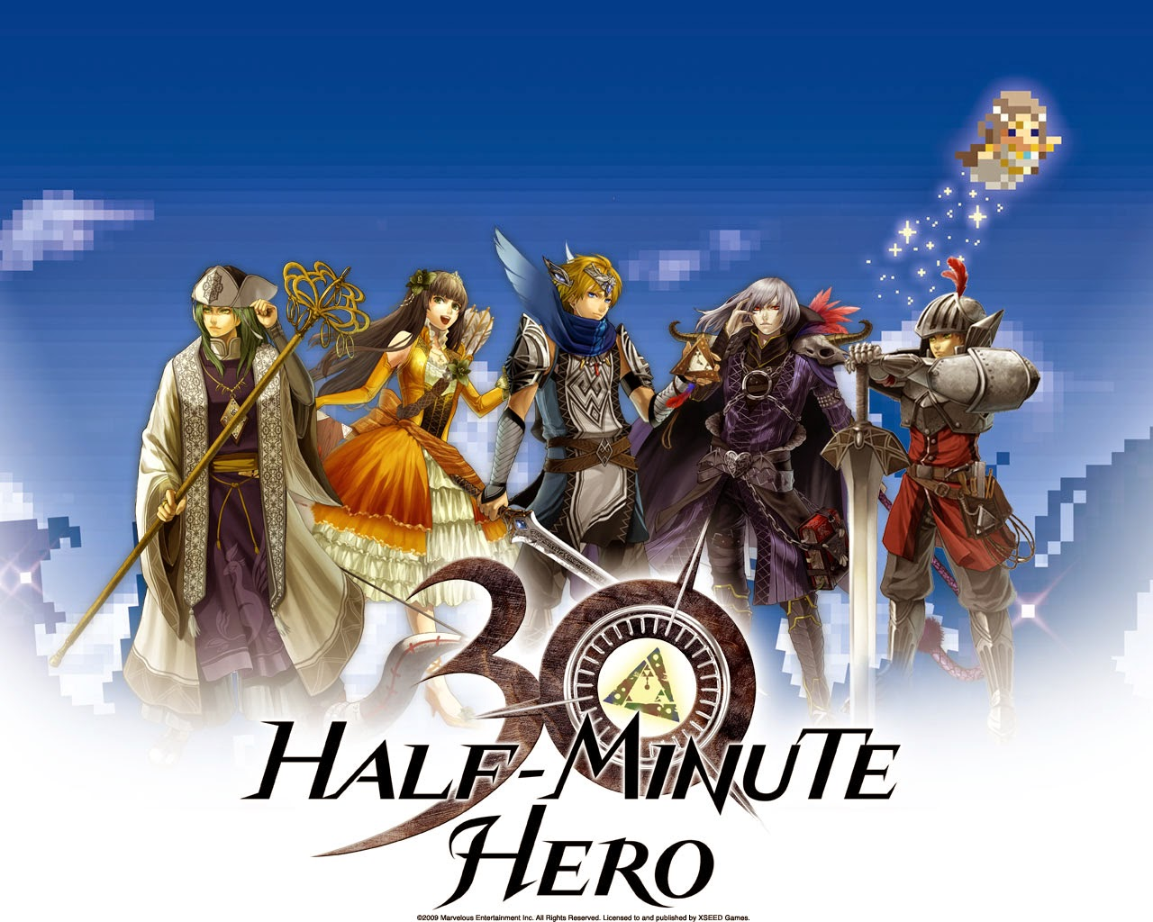 Half Minute Hero: The Second Coming Backgrounds, Compatible - PC, Mobile, Gadgets| 1280x1024 px