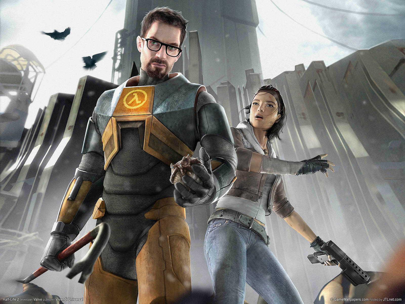 Half-Life 2 High Quality Background on Wallpapers Vista