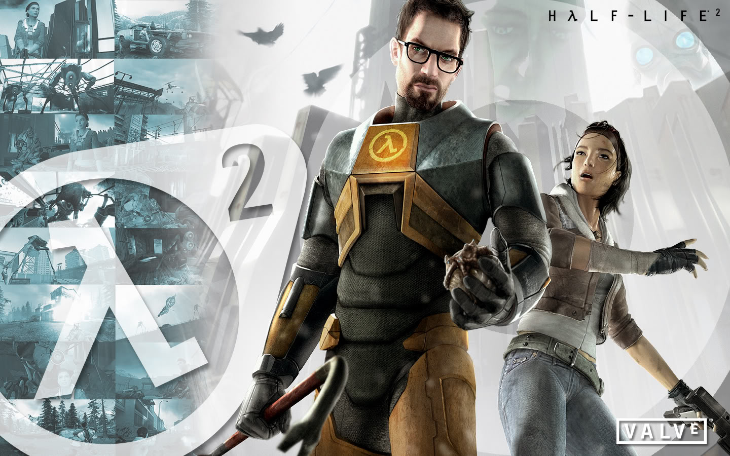 HD Quality Wallpaper | Collection: Video Game, 1440x900 Half-Life 2