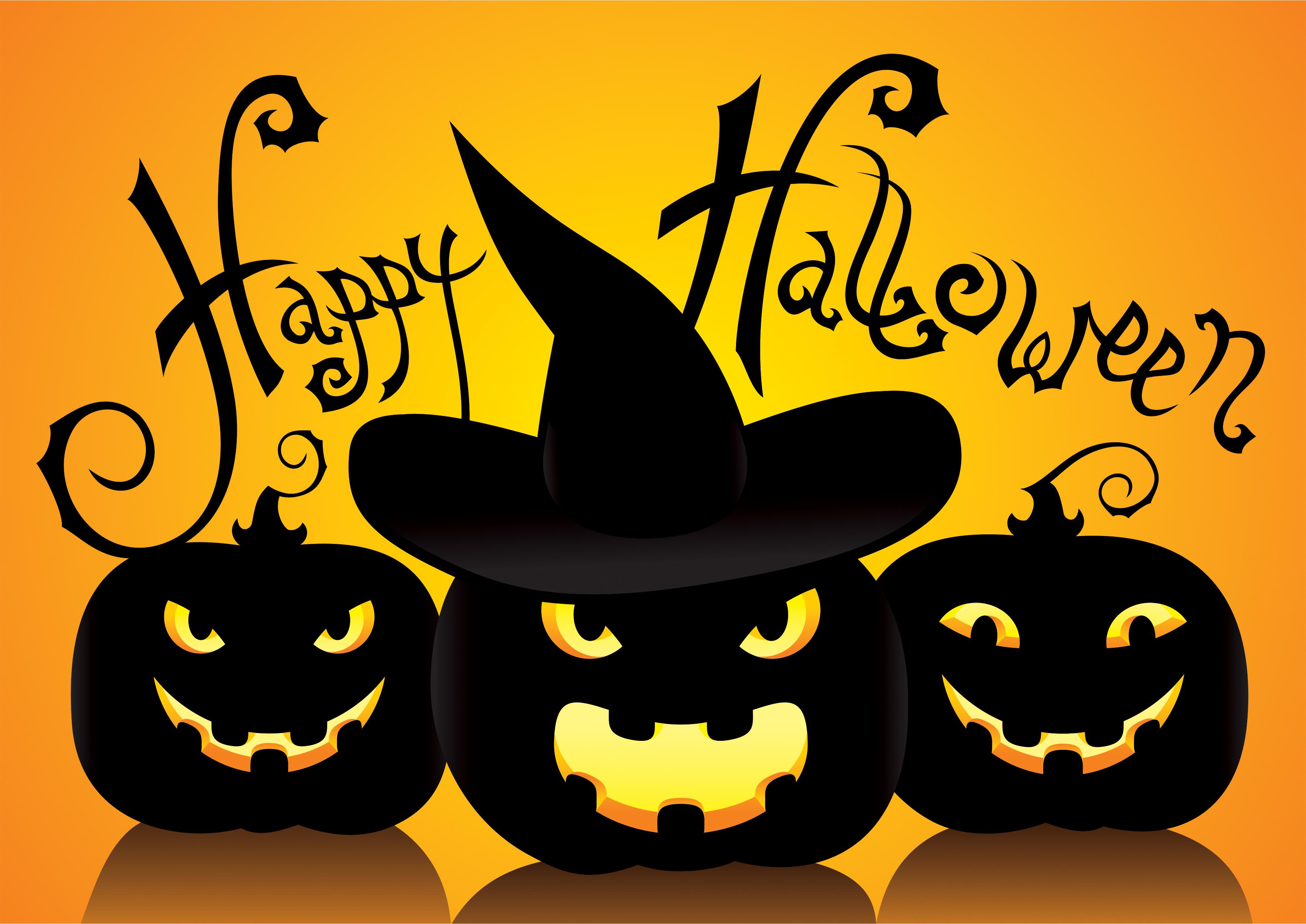 Nice wallpapers Halloween 3508x2482px