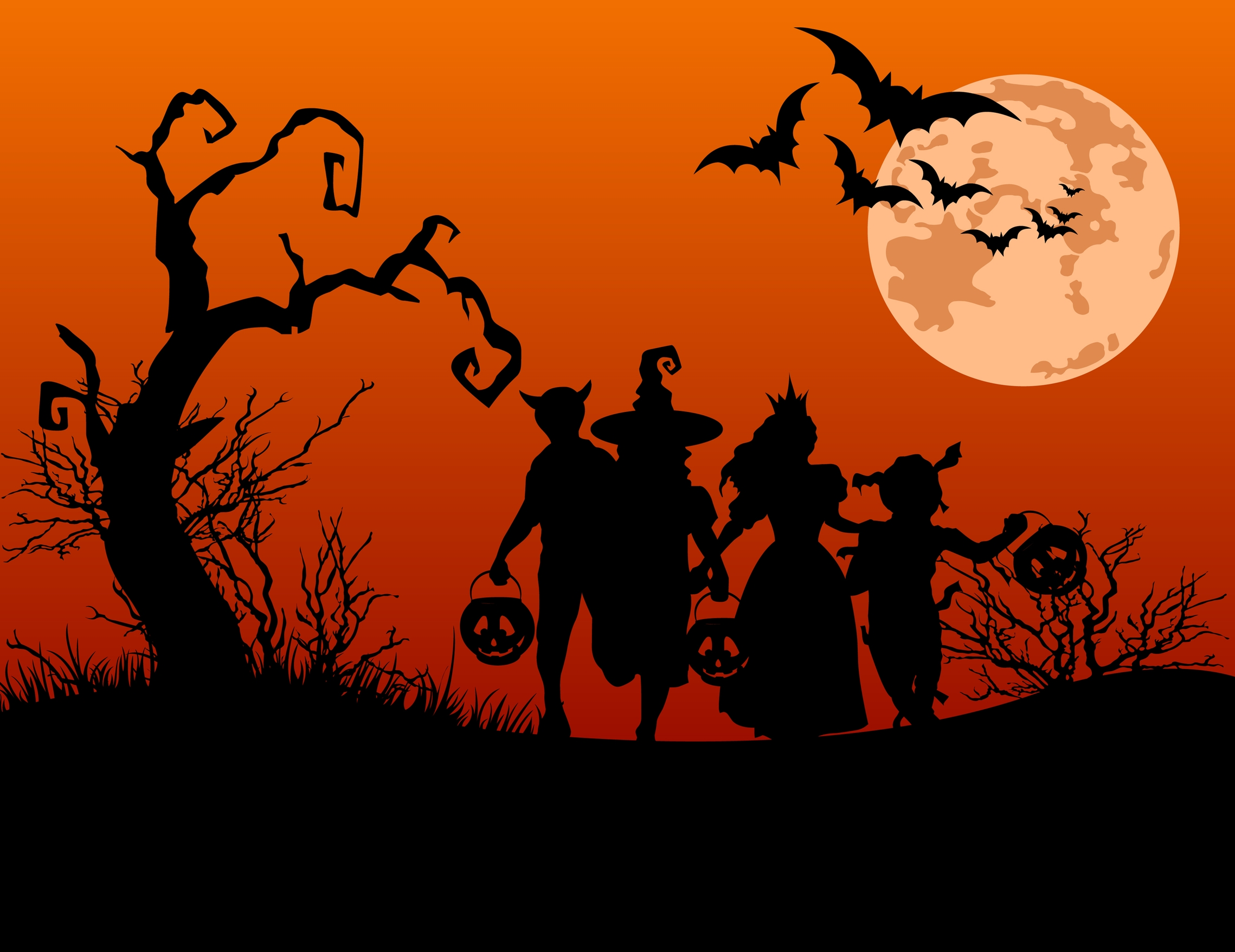 Halloween Backgrounds, Compatible - PC, Mobile, Gadgets| 2278x1756 px