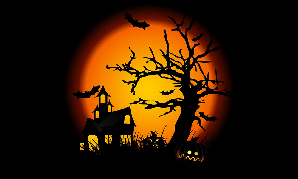 Halloween Backgrounds, Compatible - PC, Mobile, Gadgets| 1000x600 px