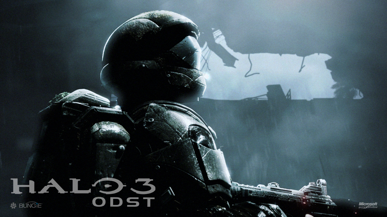 Halo 3 Odst Wallpapers Video Game Hq Halo 3 Odst Pictures 4k
