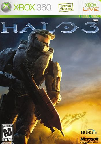HD Quality Wallpaper | Collection: Video Game, 350x495 Halo 3