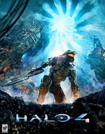 HD Quality Wallpaper | Collection: Video Game, 350x444 Halo 4