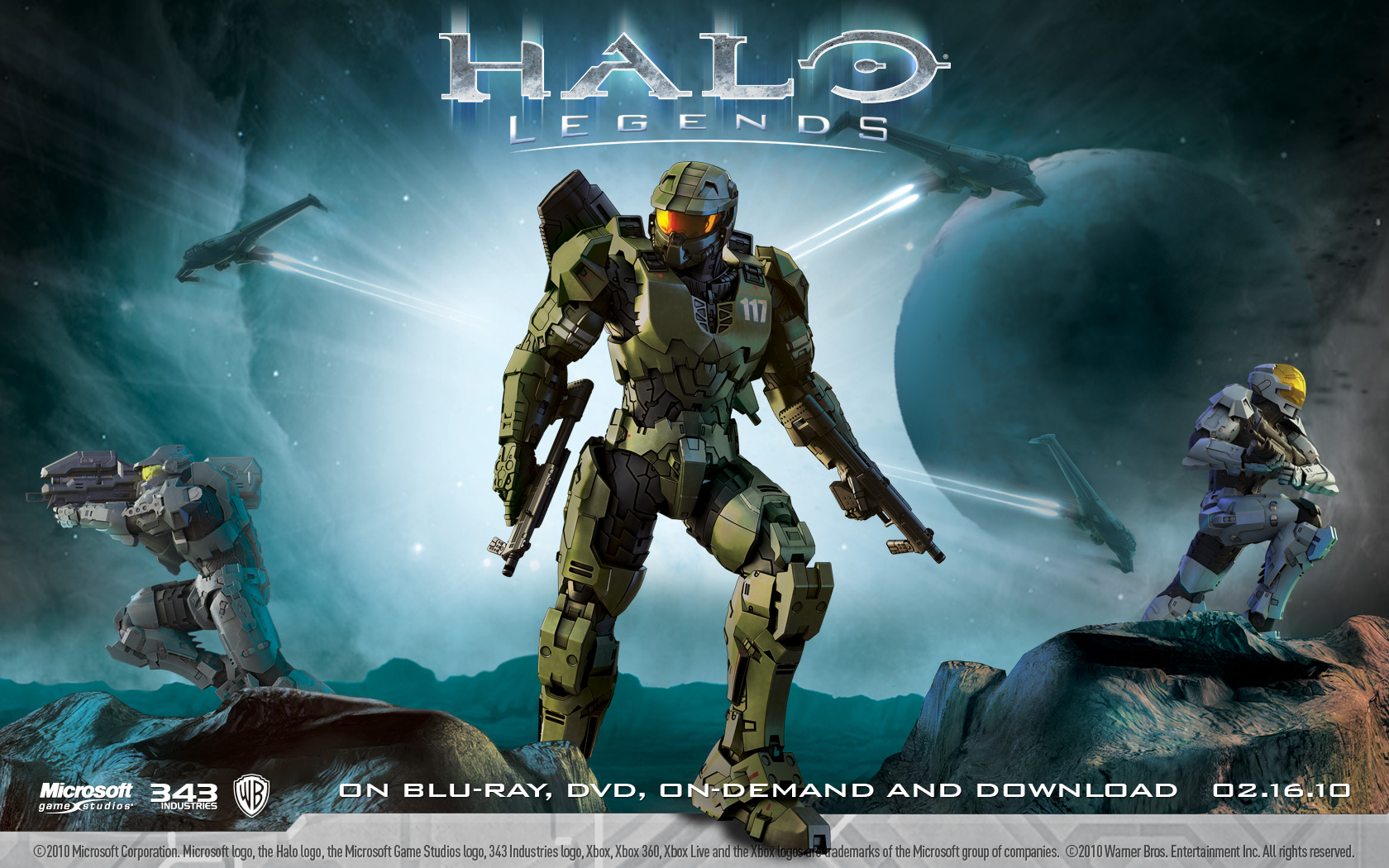 Halo Legends Pics, Anime Collection