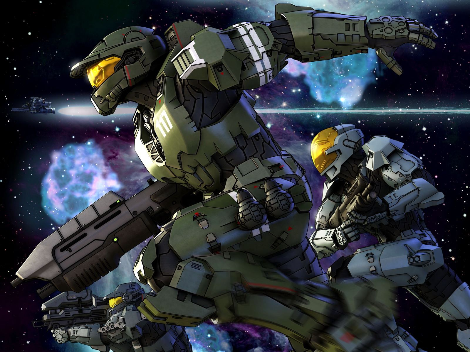 Halo Legends Wallpapers Anime Hq Halo Legends Pictures 4k