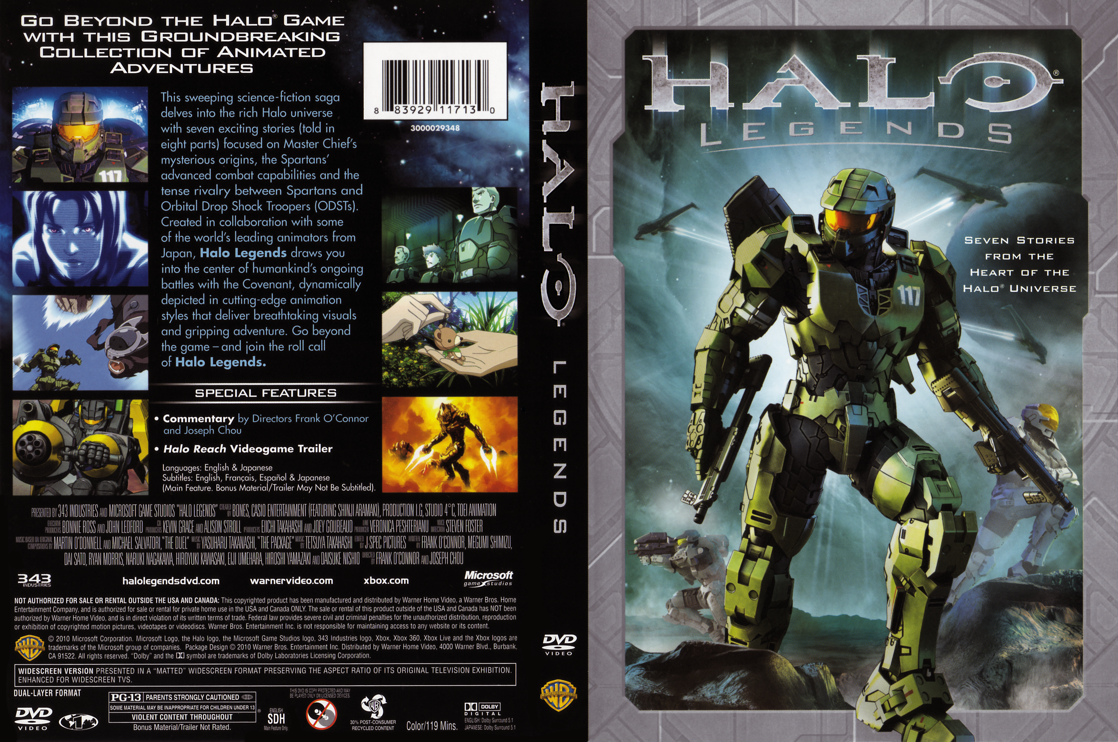 High Resolution Wallpaper | Halo Legends 3562x2366 px