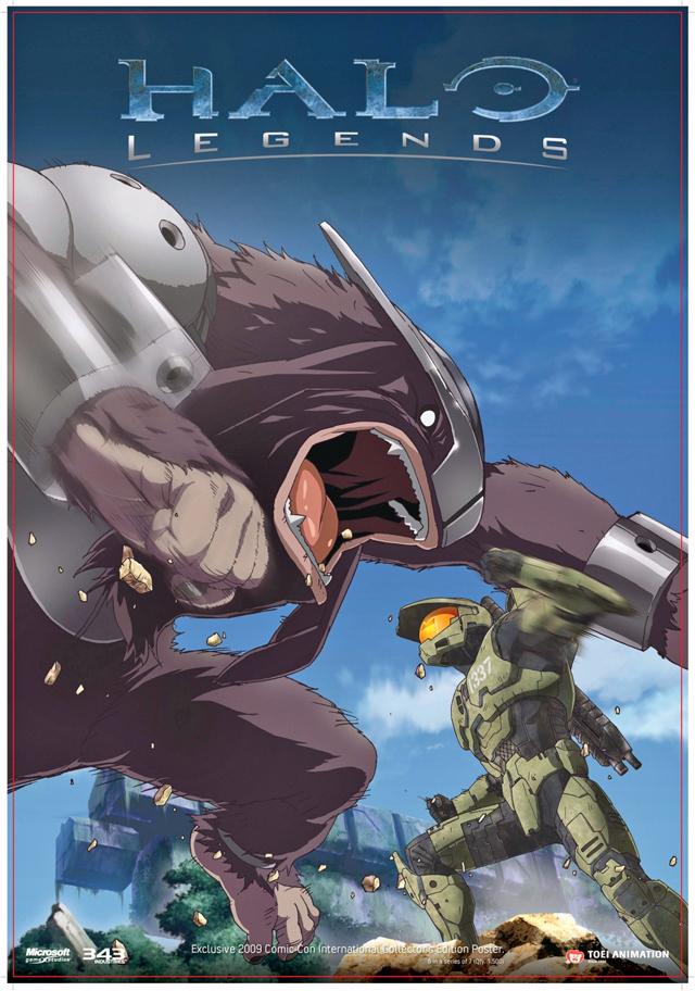High Resolution Wallpaper | Halo Legends 640x912 px