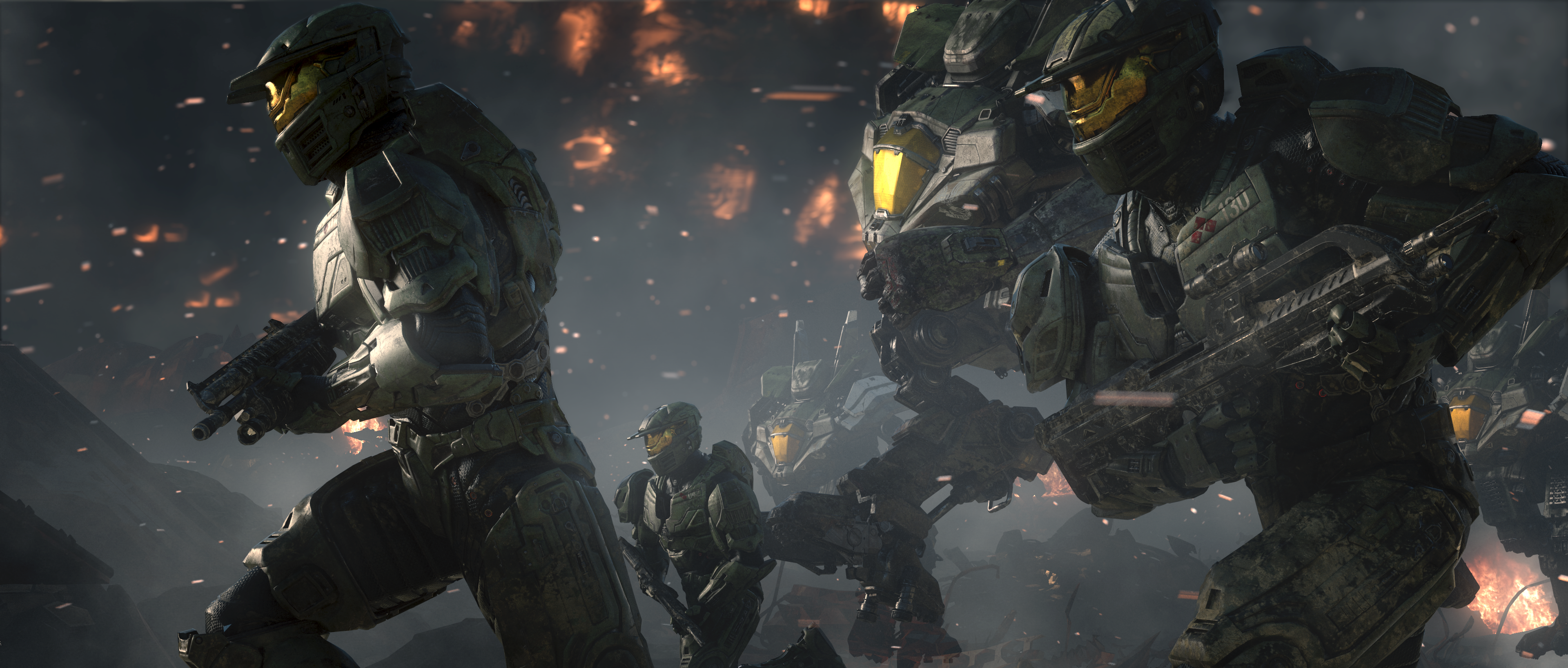 Nice wallpapers Halo Wars 2 3840x1636px