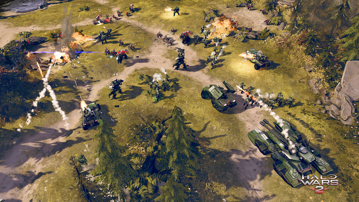 Nice wallpapers Halo Wars 1154x649px