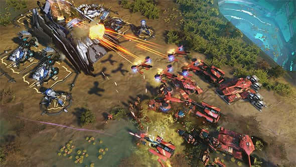 Nice wallpapers Halo Wars 590x332px