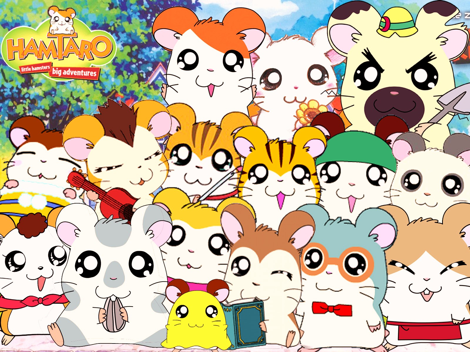 Hamtaro Backgrounds on Wallpapers Vista