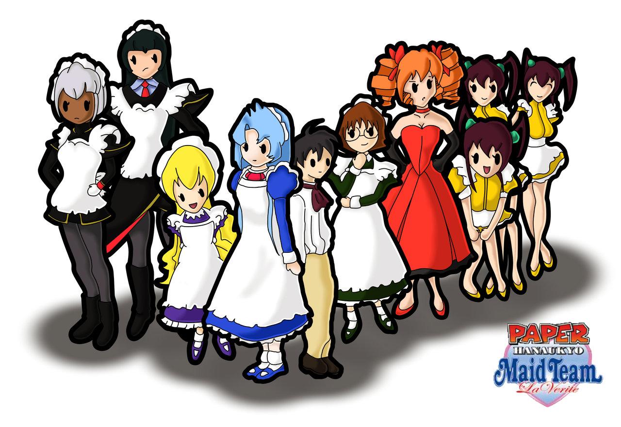 Hanaukyo Maid Team: La Verite Backgrounds, Compatible - PC, Mobile, Gadgets| 1280x880 px
