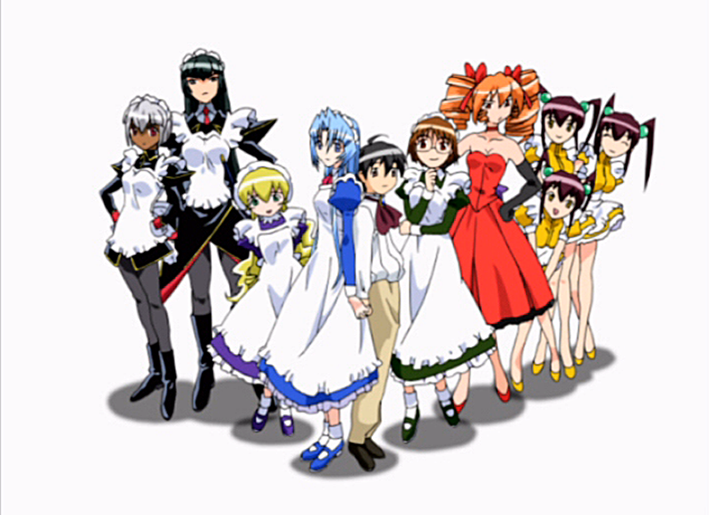 Amazing Hanaukyo Maid Team: La Verite Pictures & Backgrounds