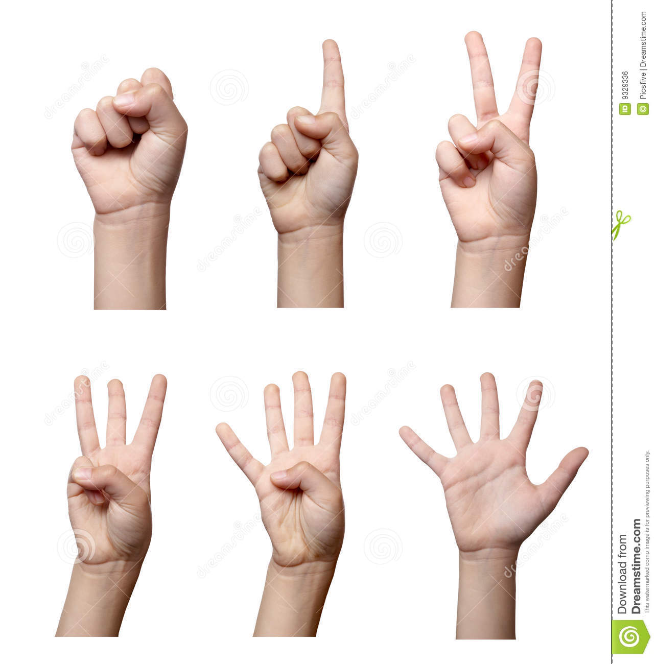 Hand Gesture #6