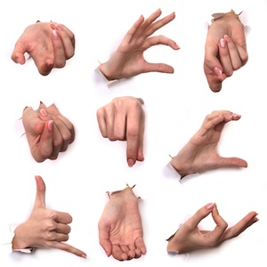 Hand Gesture #12