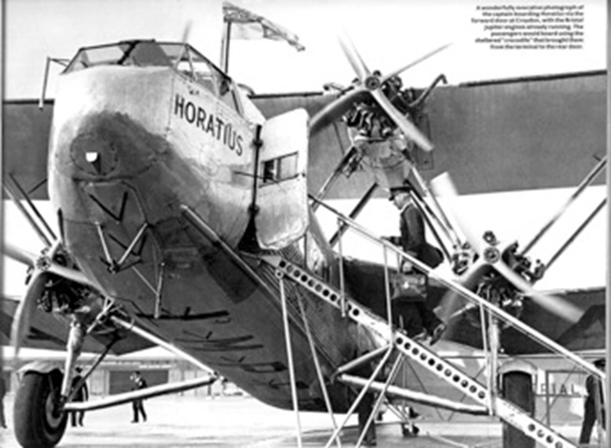 Nice Images Collection: Handley Page H.P.42 Desktop Wallpapers