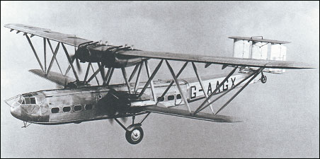 452x225 > Handley Page H.P.42 Wallpapers
