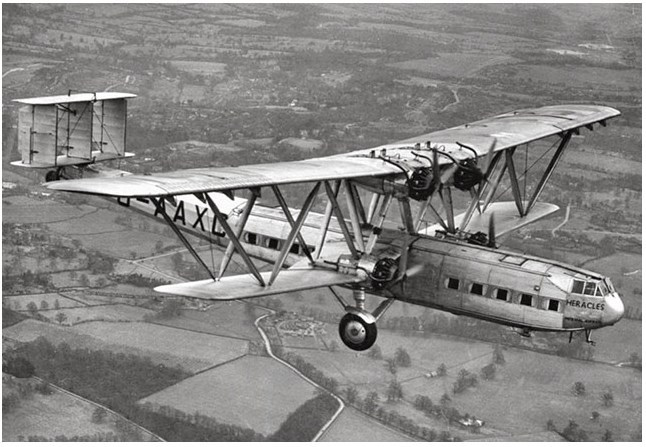 Nice wallpapers Handley Page H.P.42 646x447px